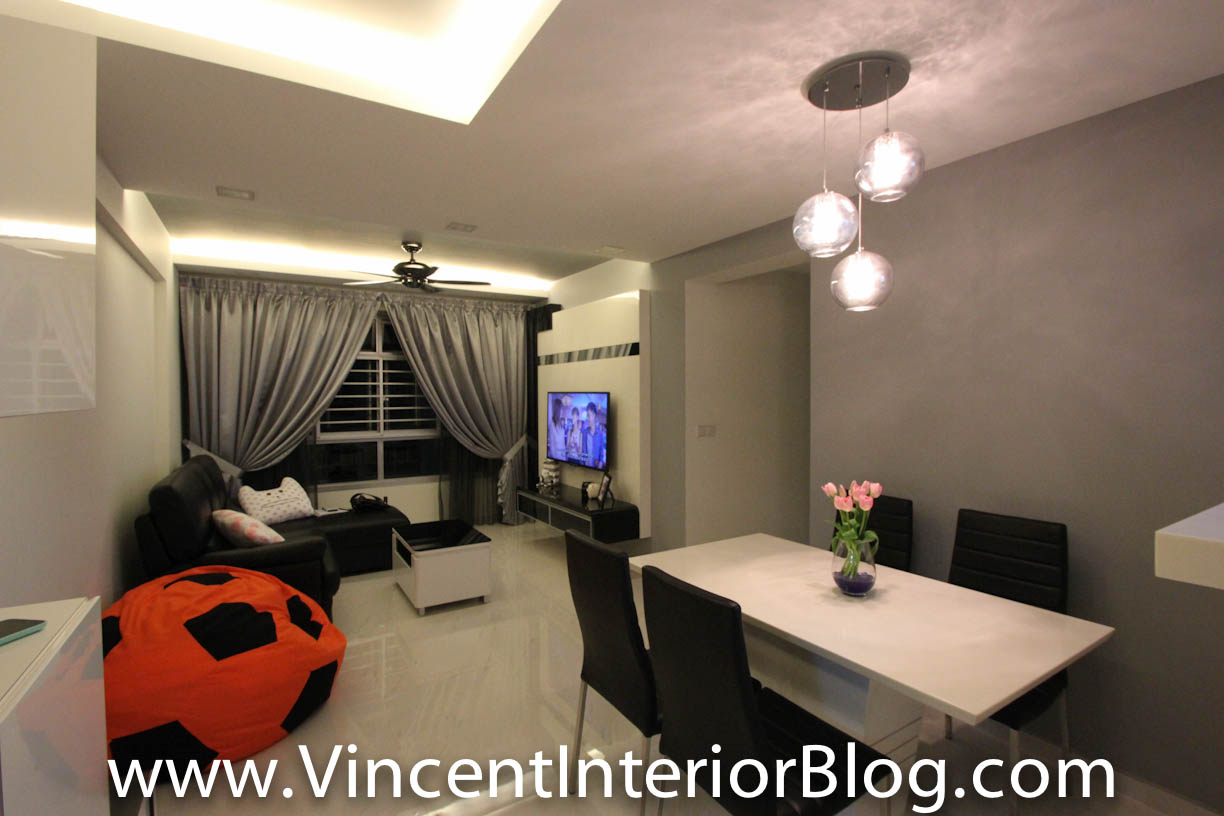 Hdb Living Room Design Ideas Singapore Contemporary Quality 5 Home
