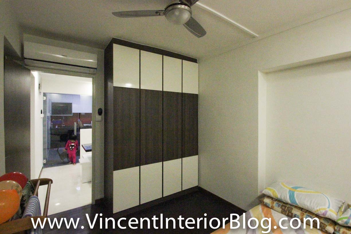 Woodland 4 room hdb renovation by behome design concept for Hdb household shelter design