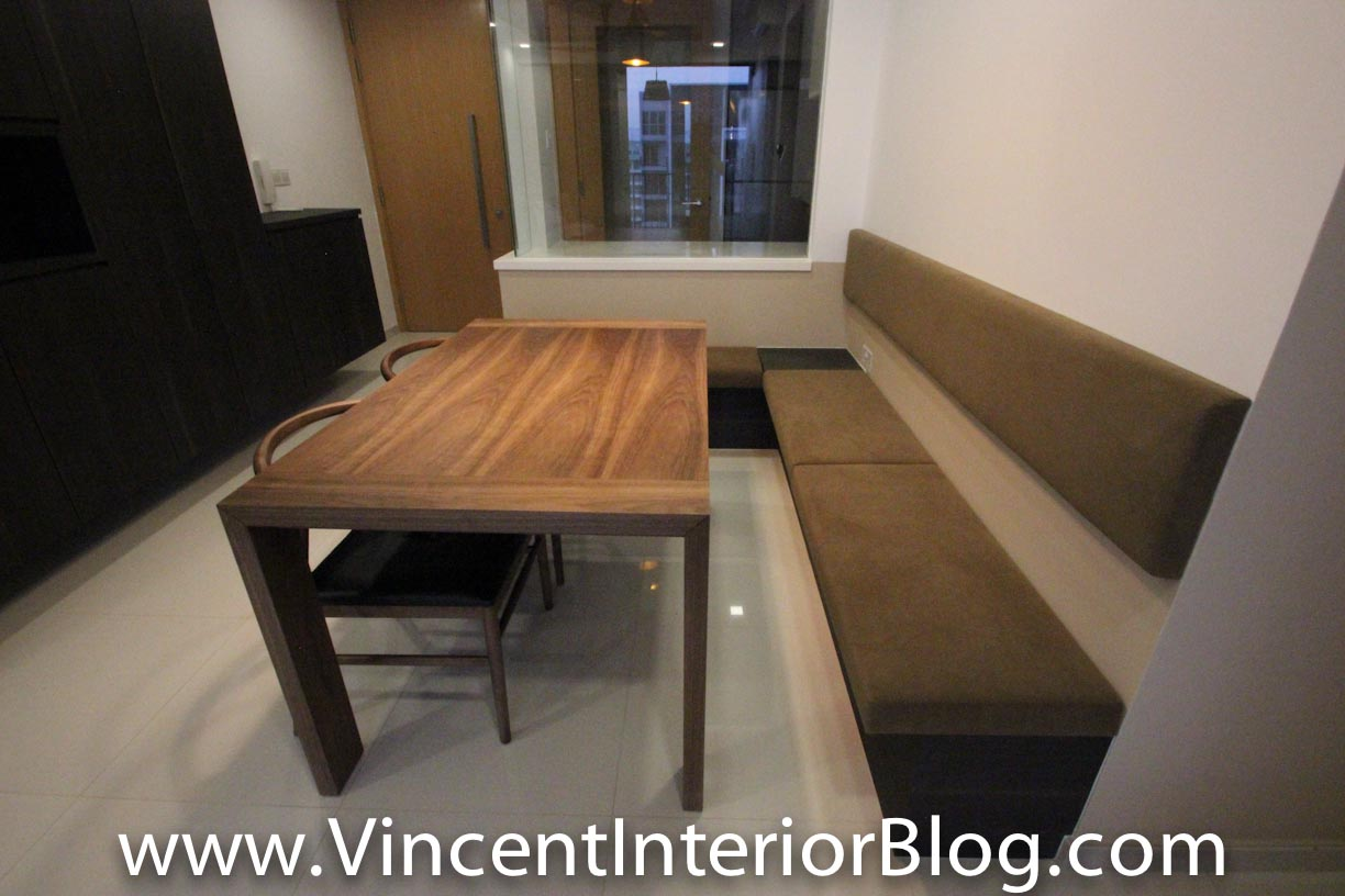 Dining Area Cushion Bench