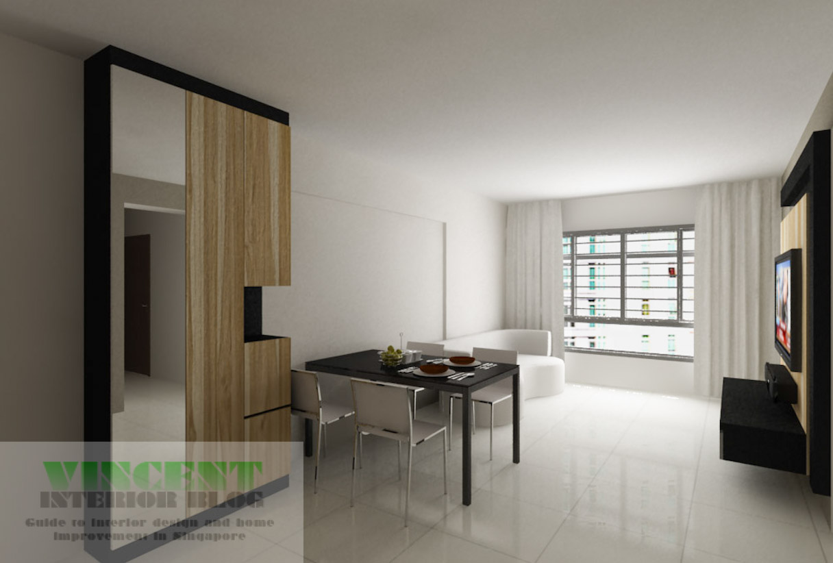 Sembawang 4 room hdb homeowners 39 testimonial for behome for Four room flat design