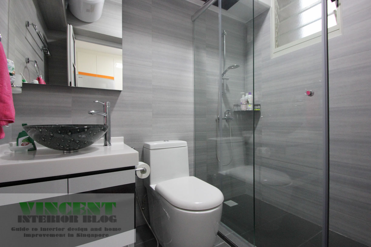 Punggol 4 room hdb renovation by behome design concept may 2014 vincent interior blog Hdb master bedroom toilet design
