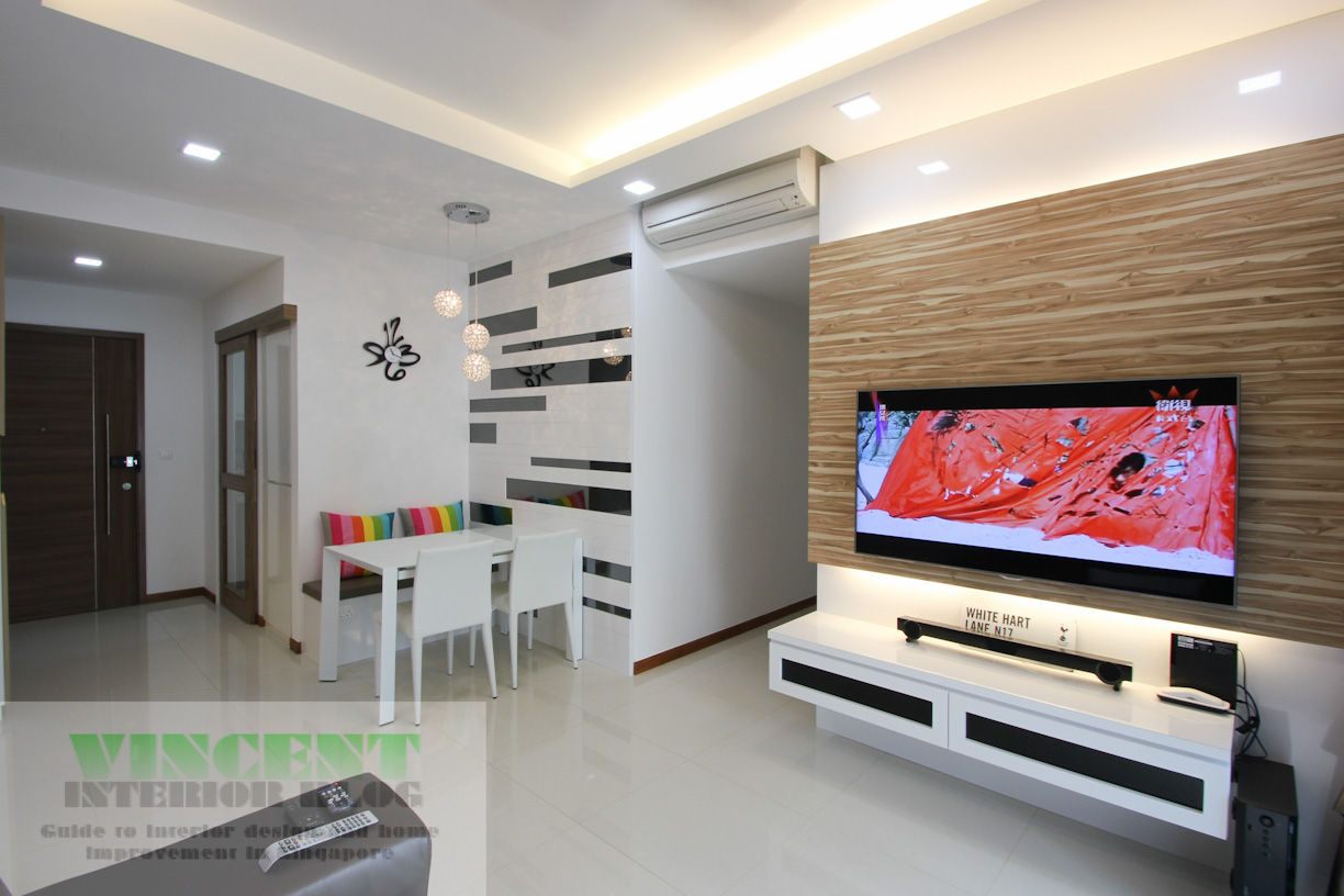 Beautifully renovated executive condominium by behome for Condo ceiling design