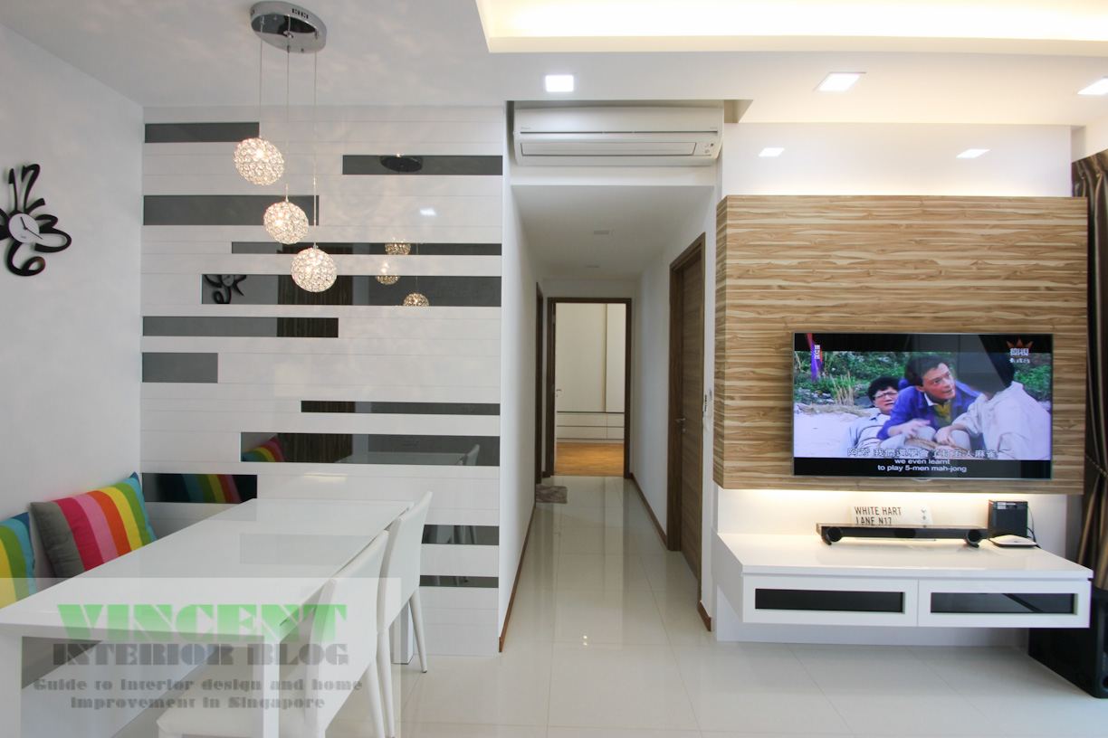 Beautifully renovated executive condominium by behome for Room design concept