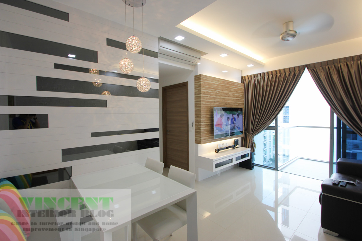Beautifully renovated executive condominium by behome for Interior design renovation
