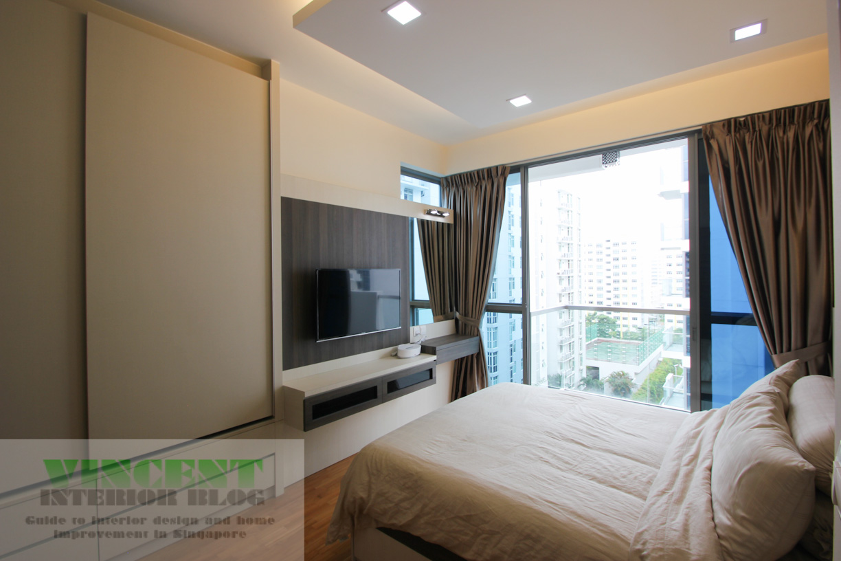 Beautifully renovated executive condominium by behome for Condo interior design