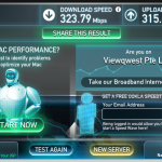 ViewQuest fibre broadband speed test 2