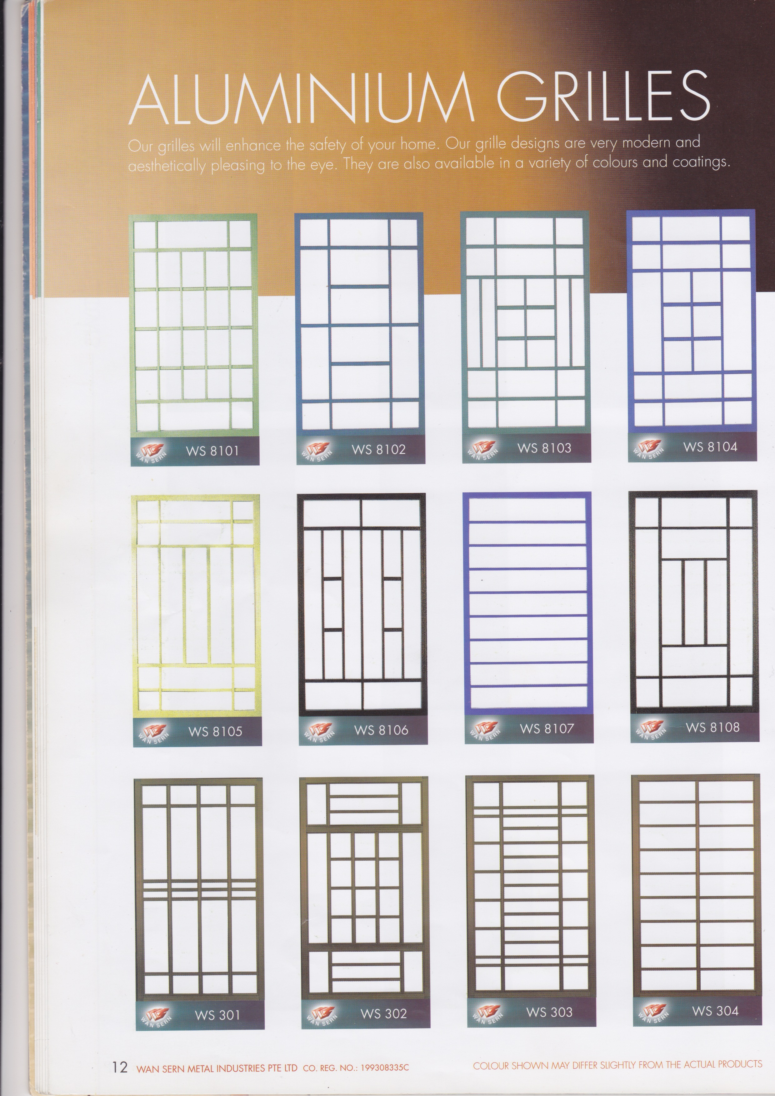 Window grille archives vincent interior blog vincent for Window grill design latest