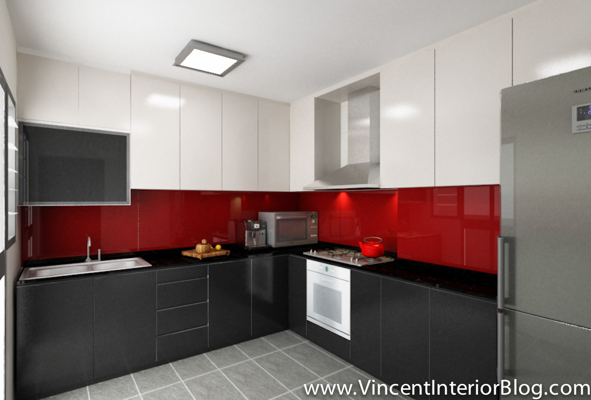 Hdb 4 room archives vincent interior blog vincent interior blog Kitchen door design hdb