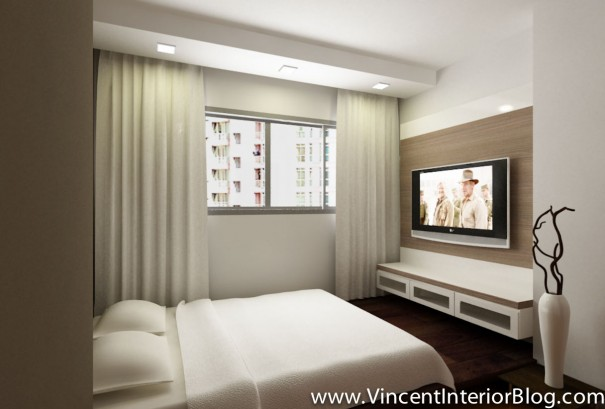 hdb master bedroom design woodland 4 room hdb renovation by behome design concept 15532