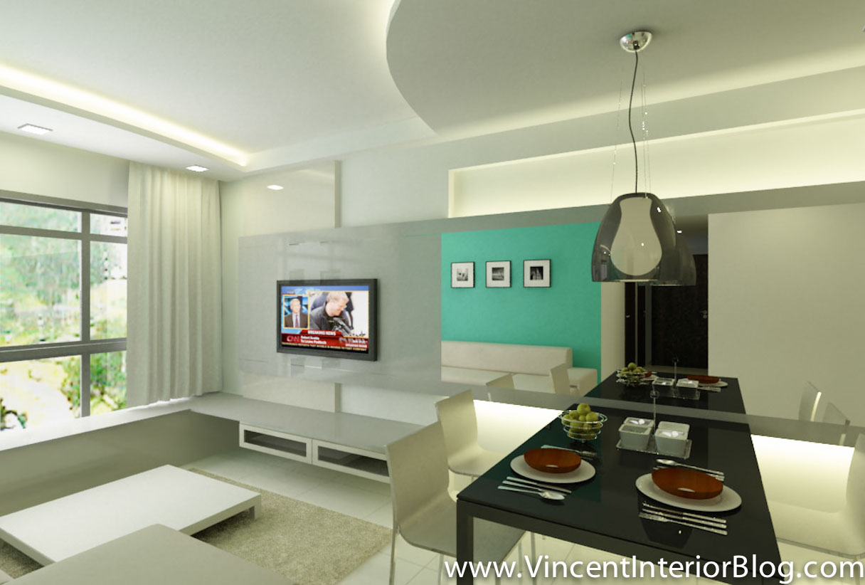 Hdb 4 room archives vincent interior blog vincent for Living room renovation ideas