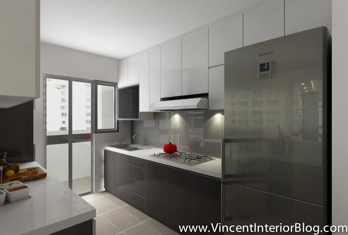 kitchen design for hdb 4 room hdb renovation project yishun october 2013 4434